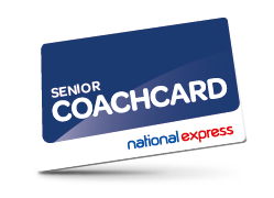 Senior Coachcard discount with National Express