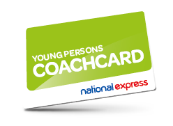 Young Persons Coach card with National Express