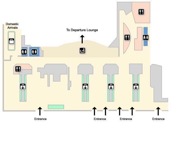 Stansted Terminal Maps Stansted Airport Guide Uk