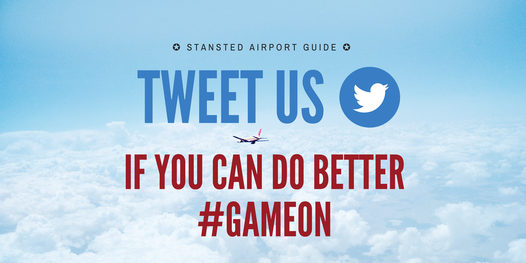 Think you can do better than our top 10 Stansted Airport Instagram Posts? Tweet us!