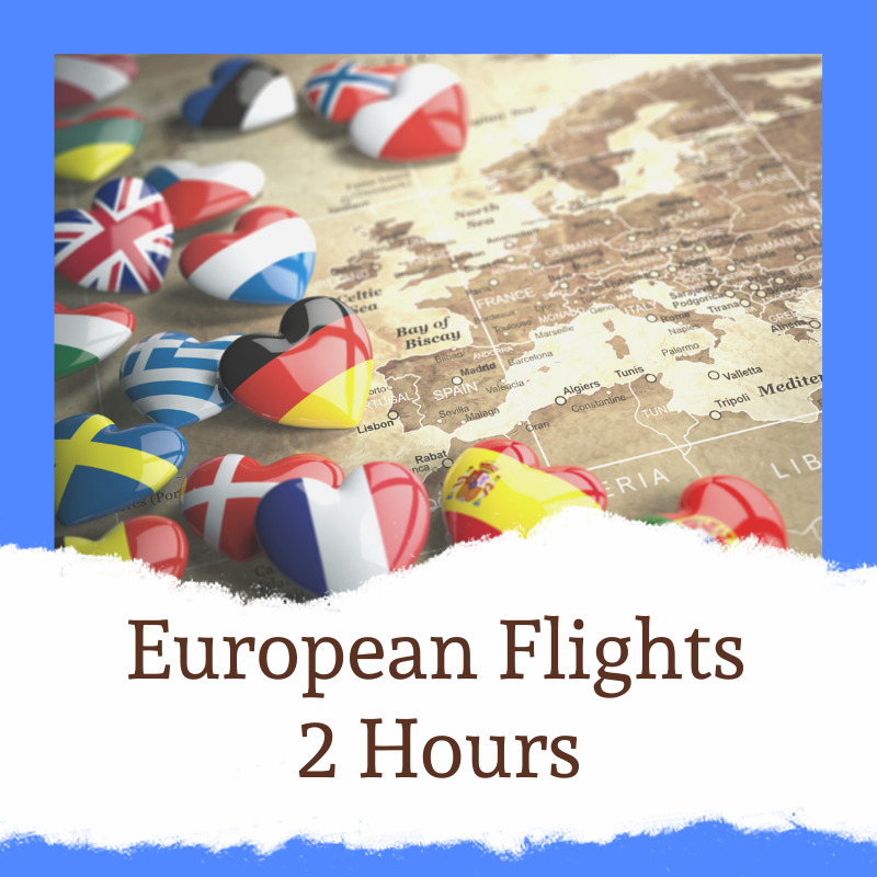 Check in at least 2 hours prior to leaving on a European flight from Stansted Airport