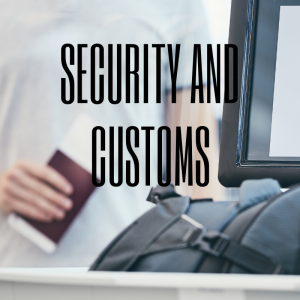 Security and Customs at Stansted Airport