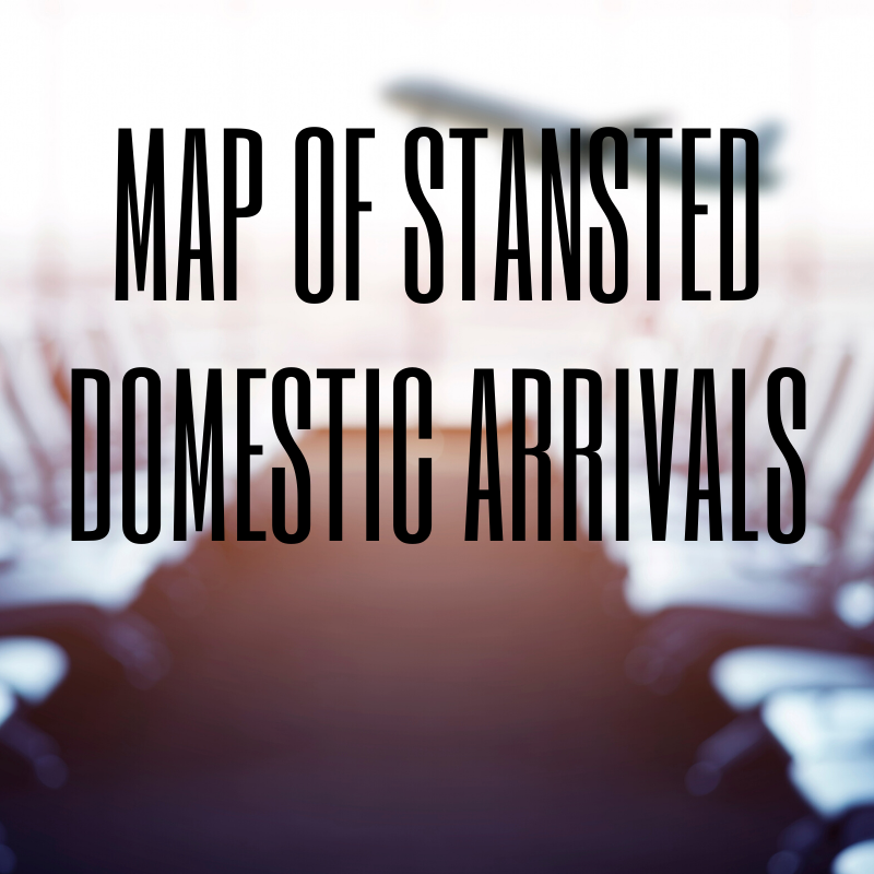 Domestic arrivals at Stansted