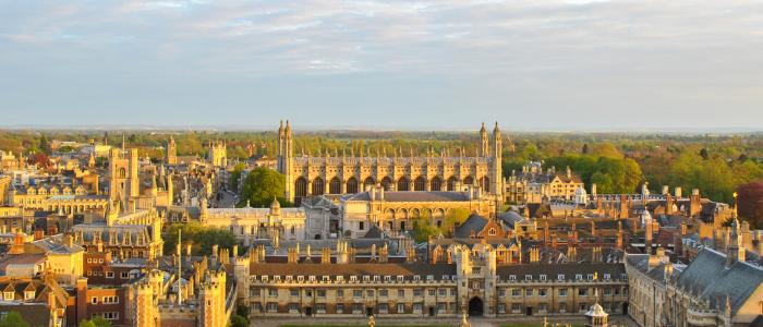 Make sure to visit Cambridge  via Stansted