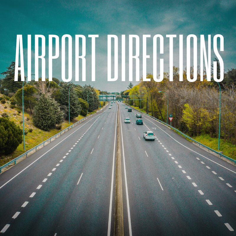Airport directions