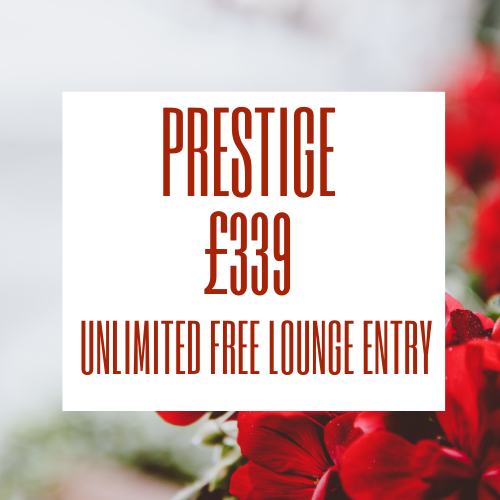 Stansted Airport lounge - Priority Pass Prestige membership is £339