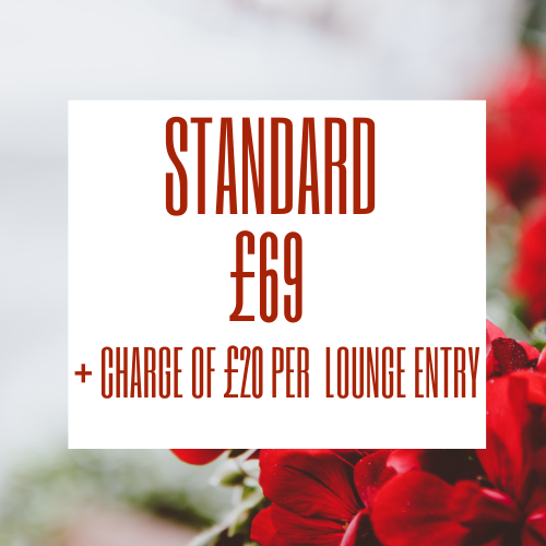 Stansted Airport lounge - Priority Pass Standard is membership is £69