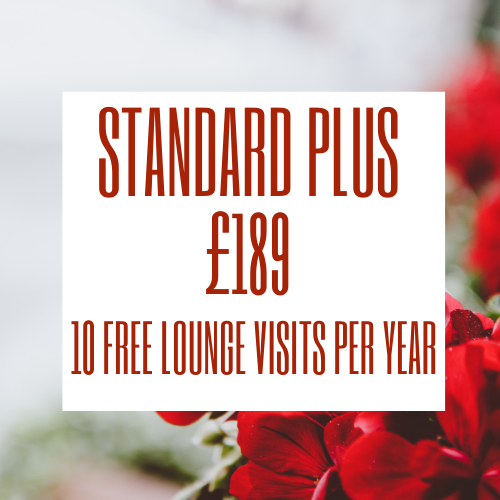 Stansted Airport lounge - Priority Pass Standard plus membership is £189