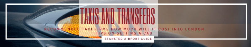 Stansted Airport taxis and transfers header