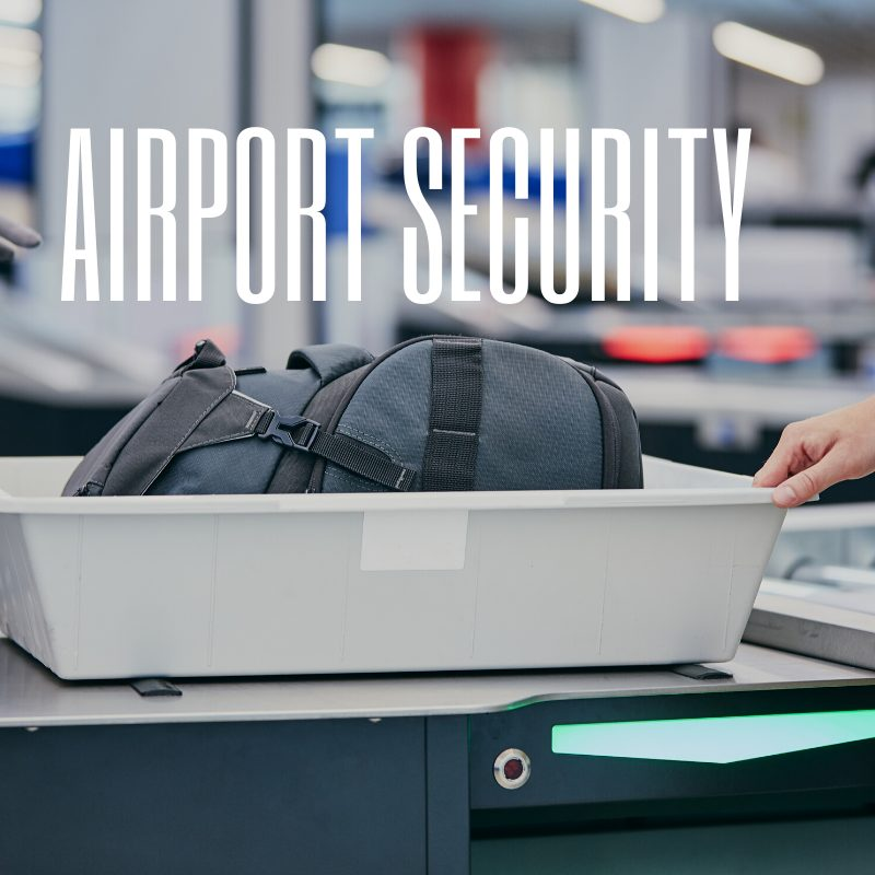 Stansted Terminal - airport security