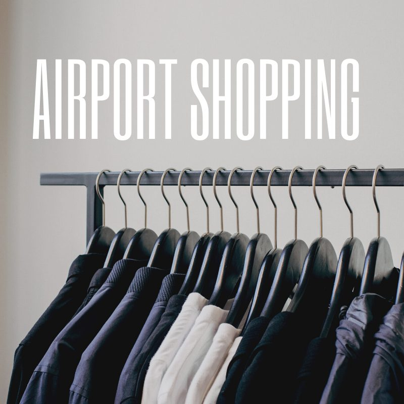 Stansted Terminal - airport shopping