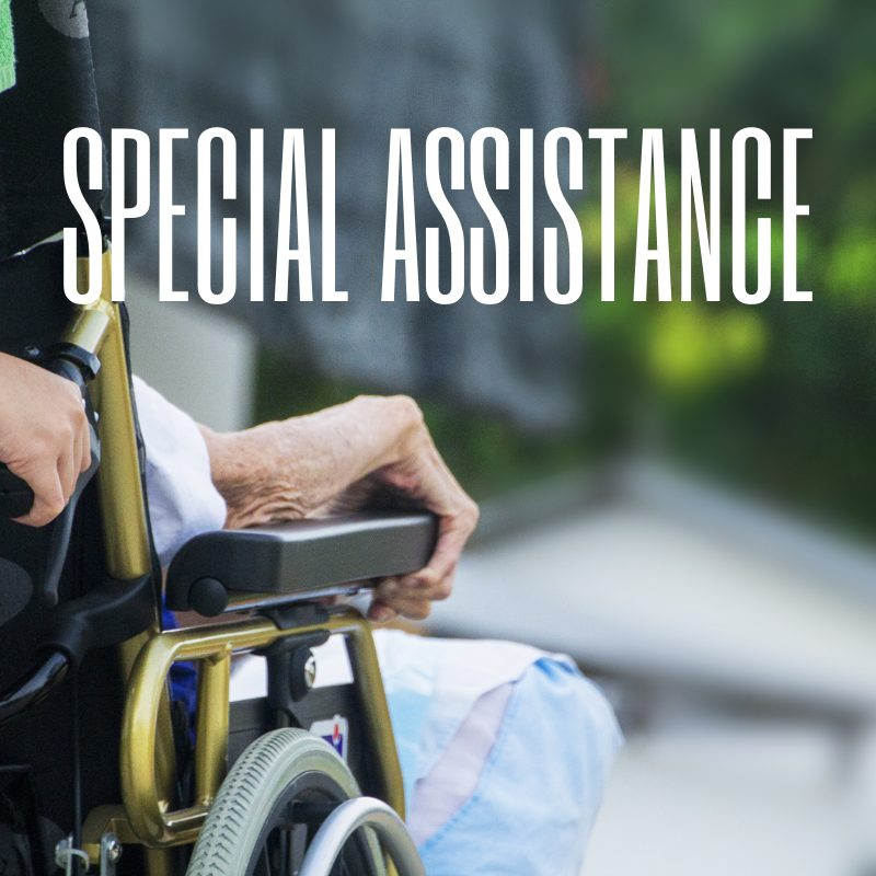 Stansted Terminal - special assistance