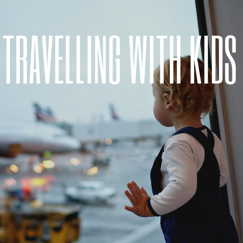 Stansted Terminal - travelling with kids
